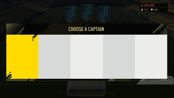 FIFA 17 FUT DRAFT CAPTAIN SELECTION TEMPLATE