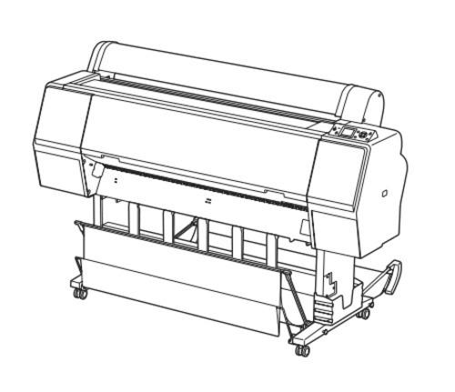 Epson Stylus Pro 7700/7710/7900/7910/9700/9710/9900 Large Format Color Inkjet Printer Service Manual