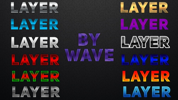 Layer Style Pack