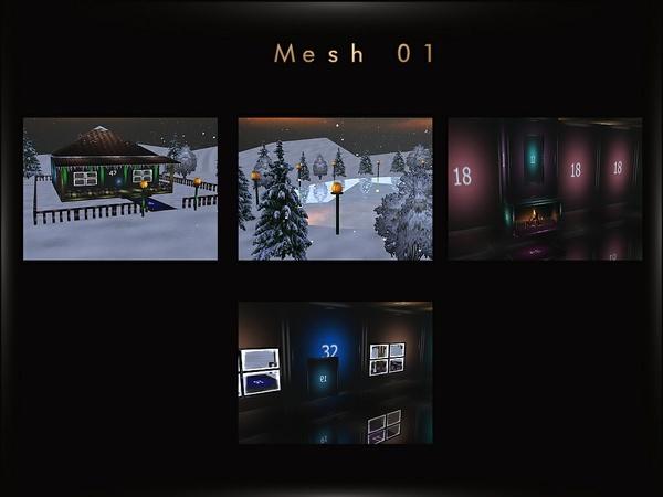 Offer 4 Mesh Files