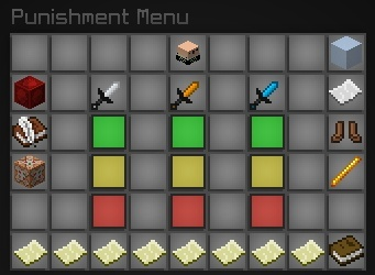The Most Advanced Punishment GUI [Skript]