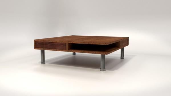 Modern Table - Blender 3D model