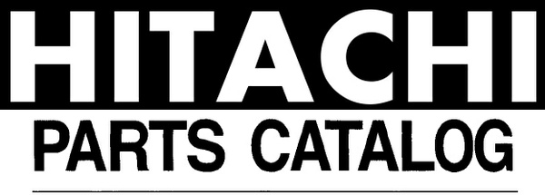 Hitachi EX300-3 , EX300LC-3 , EX300H-3 , EX300LCH-3 Excavator Parts Catalog Manual