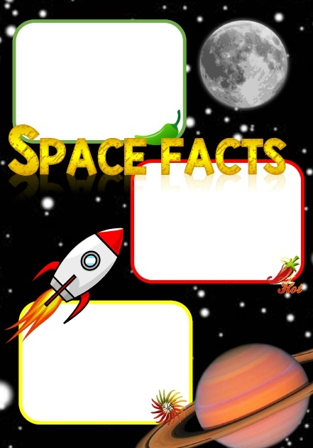 SPACE FACT RECORDING SHEET
