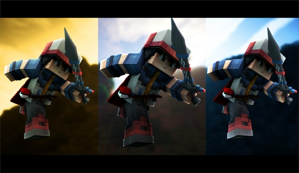 Customizable Minecraft Lightroom by Flash & ShaDowZz