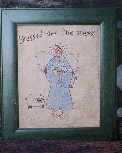 #347 Blessed are the Meek E Pattern