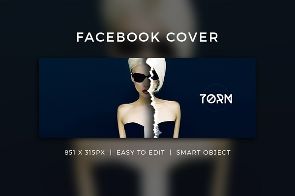 Creative Facebook Cover V12