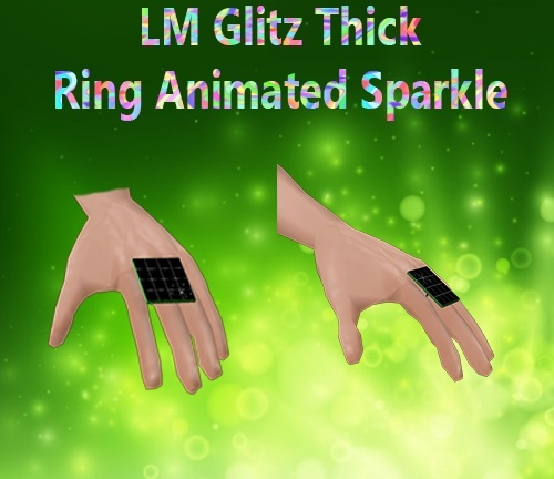 Glitz Thick Right Animated Sparkle Male Mesh Catty Only!!!