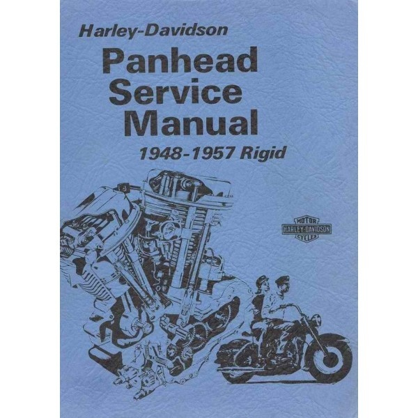 HARLEY-DAVIDSON-PANHEAD-RIGID-O.H.V TWIN MODELS-(1948-1957)-SERVICE MANUAL