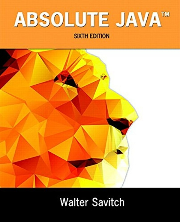 Absolute Java 6th edition (Global Edition) ( PDF , Instant download )