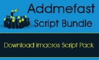 AddMeFast iMacro Automation Scripts