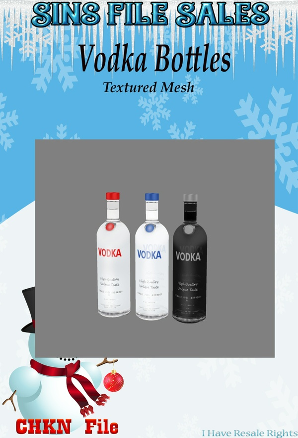 Vodka/Drink Bottles (CHKN)