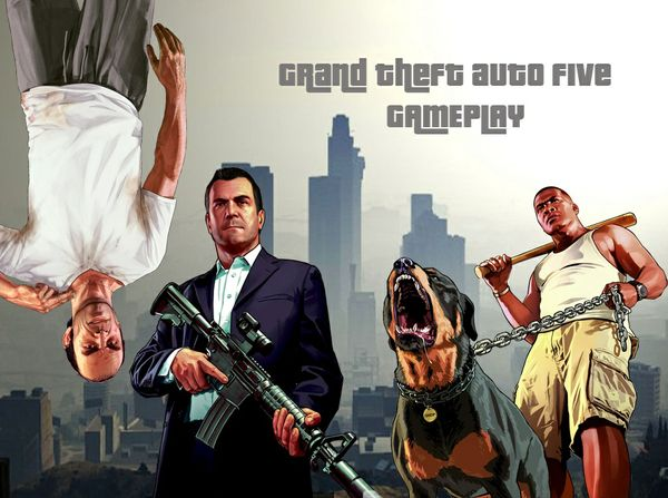 Grand Theft Auto Five Gamplay Thumbnail
