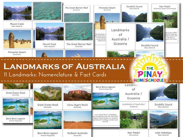 Landmarks of Australia / Oceania