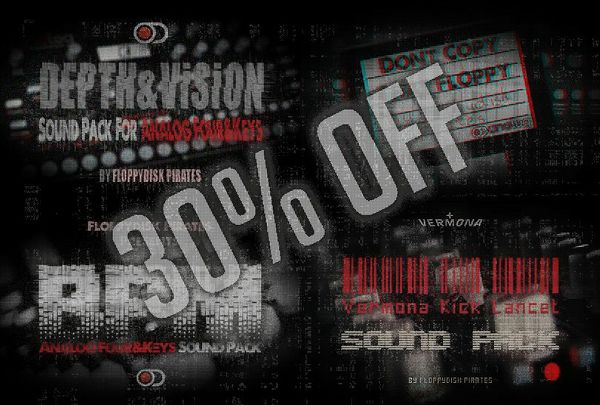 All in One Bundle - 616 New Analog Four/Keys patches included! Buy the entire bundle and save 30%