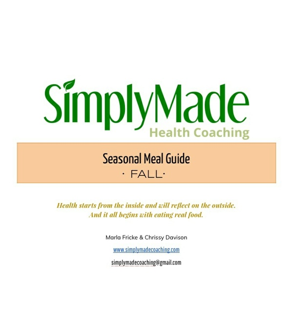 Fall Meal Guide