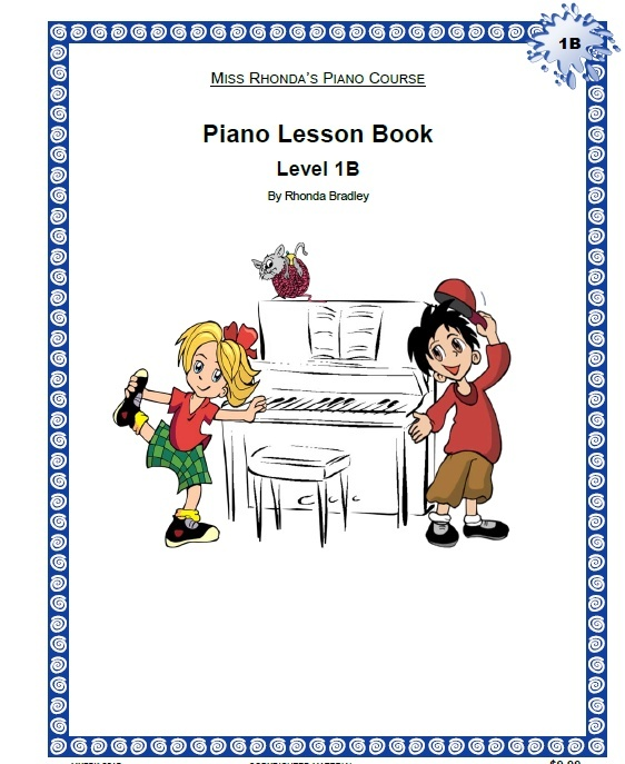 Miss Rhonda's Piano Lesson Book 1B