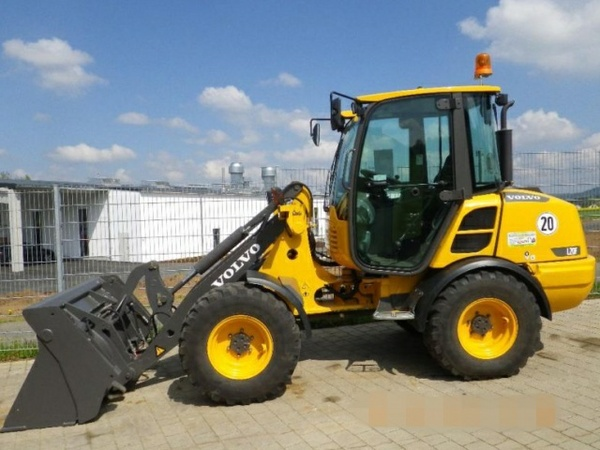 VOLVO L20F COMPACT WHEEL LOADER SERVICE REPAIR MANUAL - DOWNLOAD