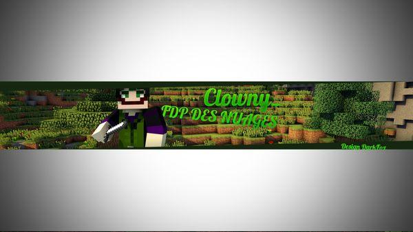 Banner Minecraft !