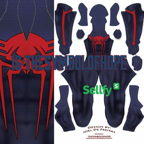 Spider-man 2099 Variant 2 (Darker Blue)