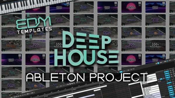 Ableton Live Deep House Template 03.07