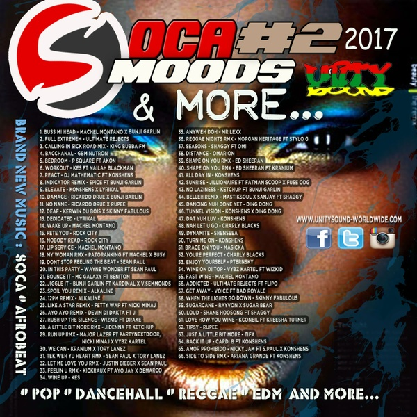 [Multi-Tracked Download] Soca Moods v2 & more Mix 2017