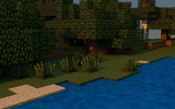 Water (Agua) By VinrusVincent  Cinema 4D Minecraft