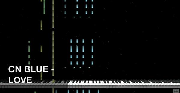 【미디 MIDI】 씨앤블루 CNblue - Love   MIDI makernect