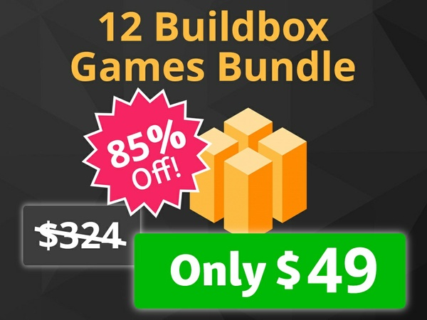 12 Buildbox Templates Bundle