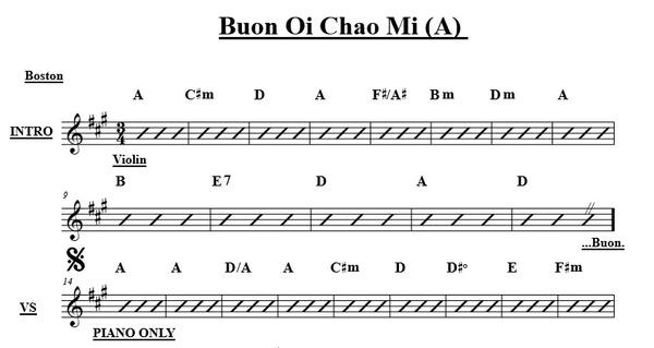 Buon Oi Ta Xin Chao Mi - A