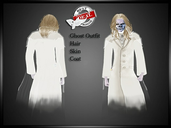 Man Ghost Outfit