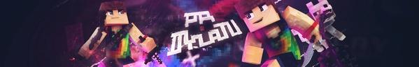 Minecraft 3D Banner !