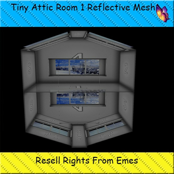Tiny Attic Room 1 Mesh Catty Only!!!