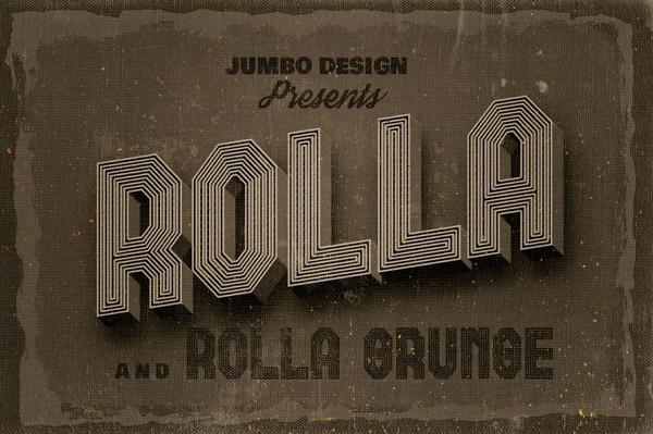 Rolla - Custom Font