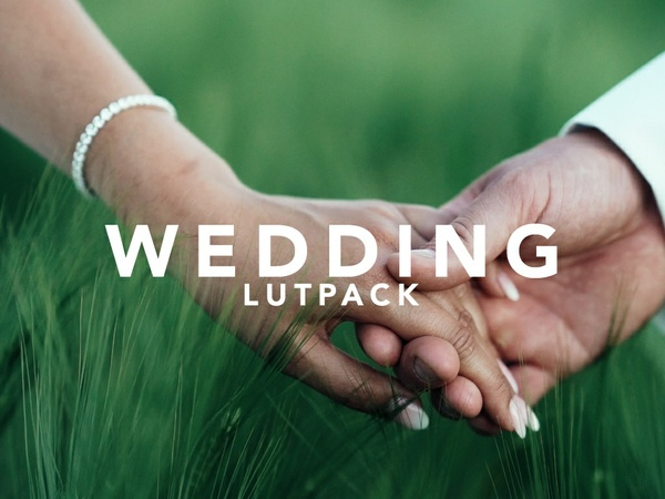 WEDDING LUT PACK for Sony A7S/a6300/a6500