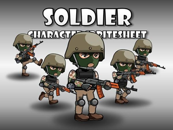Soldier 42 Woodland Mercenary