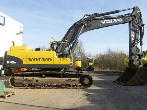 VOLVO EC360C NL EC360CNL EXCAVATOR SERVICE REPAIR MANUAL - DOWNLOAD