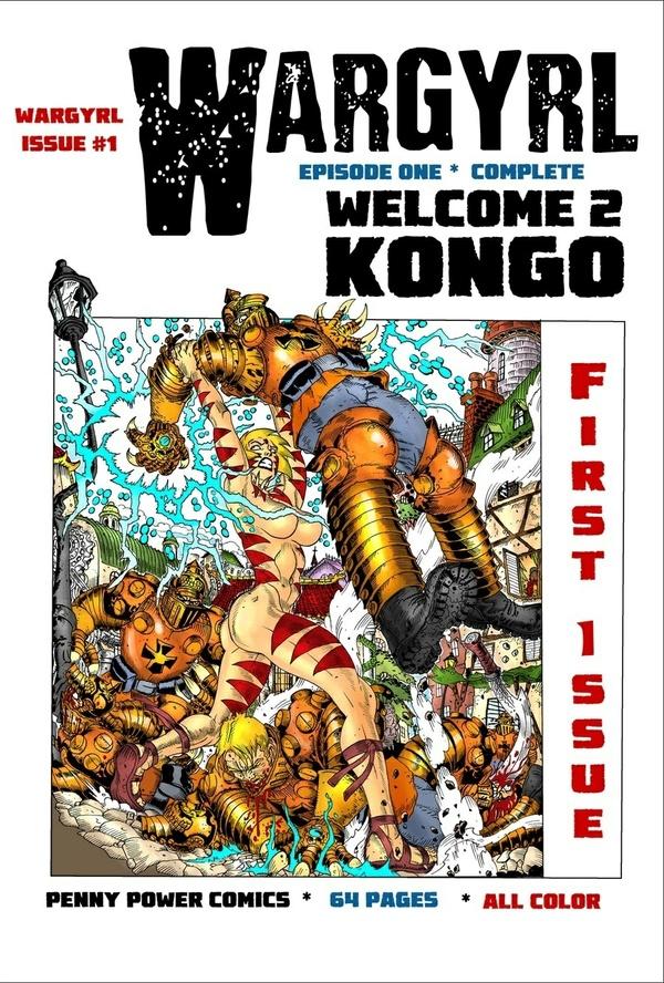 Wargyrl #1: Welcome 2 Kongo