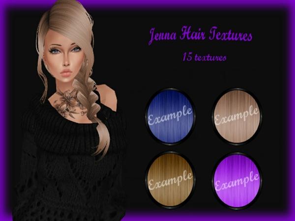 Jenna Hair Textures