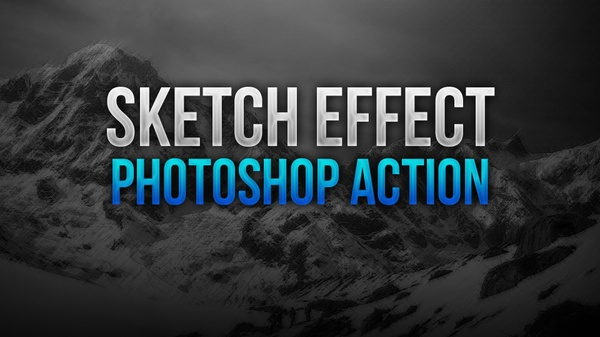 Sketch Effect Photoshop Action