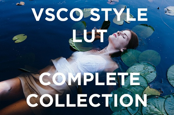 """VSCO"" LUT COMPLETE PACK (500 LUTS)"