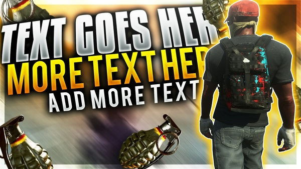 H1Z1 YouTube Thumbnail Template Pack