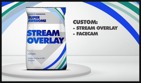 Custom Stream Overlay Design