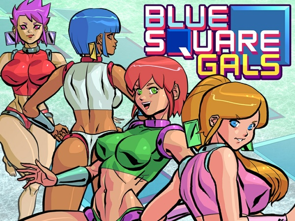 Blue Square Gals