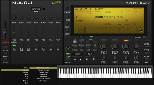 M.A.C.J M800 SynthRack