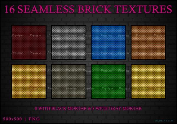 IMVU Seamless Brick Texture Pack