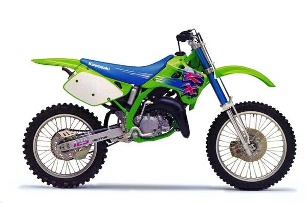 KAWASAKI KX125, KX250 MOTORCYCLE SERVICE REPAIR MANUAL 1992-1993 DOWNLOAD