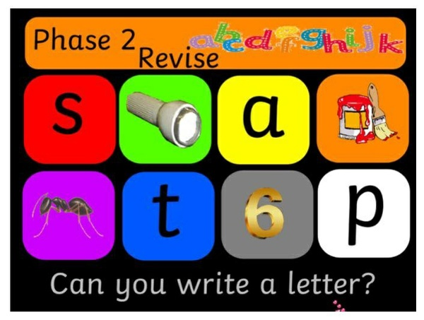 SAT PHONICS for intro to PHASE 2