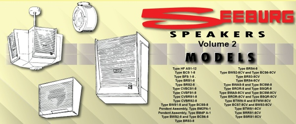Seeburg Speakers Technical Information and Installation Manual Volume # 2