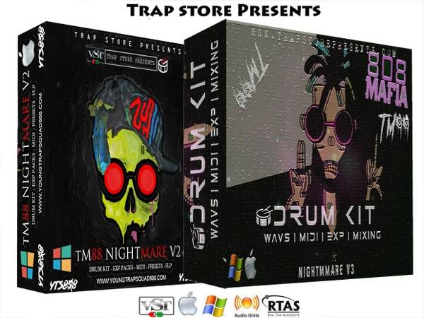 Trap Store Presents - TM88 Nightmare Collections